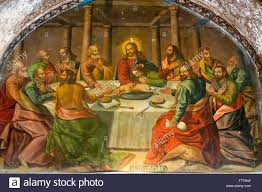 armenian apostolic church mural the last supper bethlehem armenian apostolic church mural the last supper bethlehem church or bedkhem church julfa district or jolfa isfahan iran