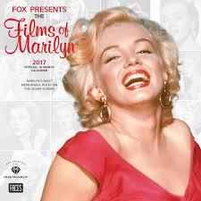 films of marilyn monroe 2017 wall calendar brand new movies