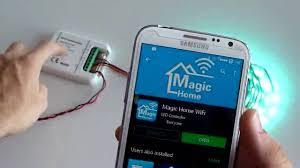 nexlux led light strip review of sunix wireless wifi rgb rgbwwcw led strip light