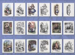 alice in wonderland giant poster and coloring book 12 prints to