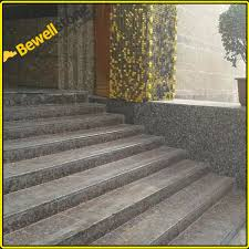natural stone granite non slip stair treads one stop stair treads