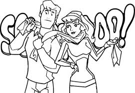 scooby doo coloring pages games idea pdf book free scooby