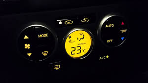 nissan versa fuel gauge air conditioner control nissan tiida nissan versa youtube