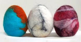 felted easter eggs how to make felted easter eggs with wool hometalk