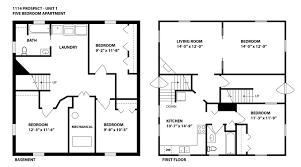 Five Bedroom Floor Plan 1114 Prospect U2014 Extra Large Bedroom U2013 Shah Properties