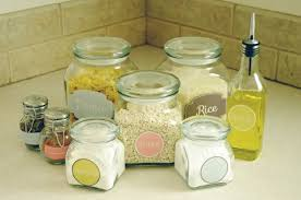 labels for kitchen canisters diy label projects and free printables the budget decorator