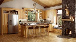 knotty hickory cabinets kitchen hickory rustic hickory canyon creek cabinet company