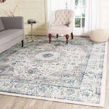 Brown And Blue Area Rug by Blue Area Rugs Rugs The Home Depot