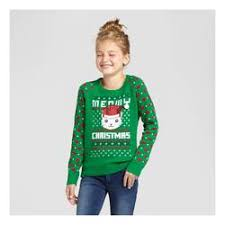 meowy christmas sweater l o l vintage meowy christmas sweater green size xl