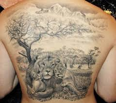 30 amazing lion and cub tattoo ideas 2018