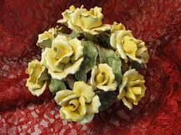 capodimonte basket of roses 54 best capodimonte images on ceramic flowers