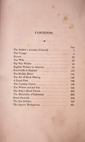 first british edition of u0027the sketch book of geoffrey crayon gent