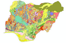 nigeria physical map geography news of nigeria