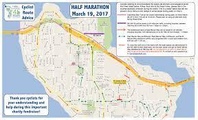 Map Your Running Route by Cyclist Advisory U2013 Mercer Island Half Marathon