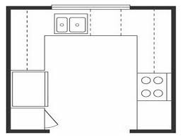 U Shaped Kitchen Layout Ideas Small U Shaped Kitchen Floor Plans Desk Design Ideal U Shaped