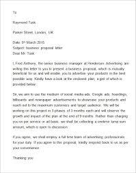 proposal letter pdf a business proposal letter proposal letter
