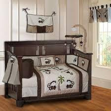 Crib Bedding Monkey Babyfad Monkey Baby 10 Crib Bedding Set Reviews Wayfair