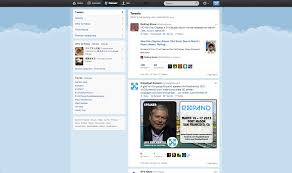 layout of twitter page layout small form big page user experience stack exchange