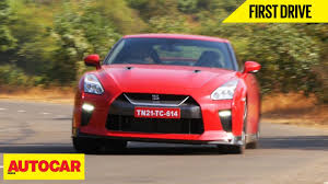 nissan india 2017 nissan gt r first drive autocar india youtube