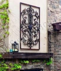 Garden Wall Decor Wrought Iron Extra Large 61