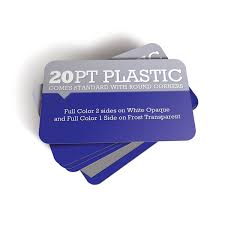Plastic Business Cards Los Angeles Business Card Printing By Premiumcards Net