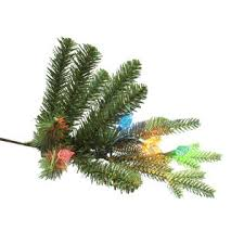 general electric 7 5 pre lit just cut aspen fir tree with 500