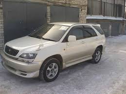harrier lexus 2007 1999 toyota harrier pictures