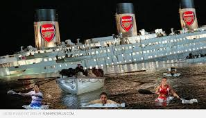 Titanic Funny Memes - titanic arsenal players escaping funny pictures