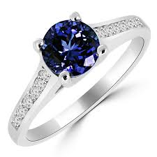 tanzanite engagement ring 1 27ct tanzanite engagement ring