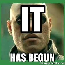 Morpheus Meme Generator - it has begun matrix morpheus meme generator