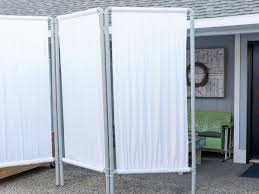 room divider rod 27 ways to add privacy to your backyard hgtv u0027s decorating