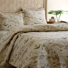 Tommy Bahama Comforter Set King Tommy Bahama Bedding Map 3 Piece Reversible Quilt Set By Tommy
