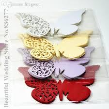 wholesale laser cut butterfly place card laser cut wedding