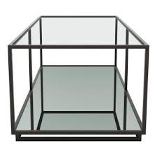 distressed black end table zuo kure distressed black coffee table 100753 the home depot