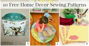 sewing patterns home decor 10 free home decor sewing patterns jpg