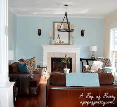blue and brown room decor brown wooden tampered legs black echo