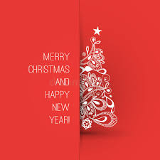 merry christmas happy greeting card creative