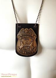 police badge necklace the necklace