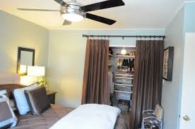 storage ideas for small bedrooms without closets