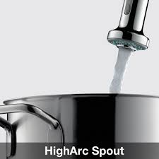 hansgrohe 04286800 steel optik talis s kitchen faucet mega hansgrohe 04286800 steel optik talis s pull down kitchen faucet with high arc spout