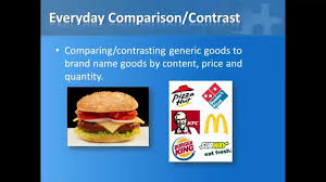 Comparison And Contrast Essays Examples Compare U0026 Contrast Essay Youtube