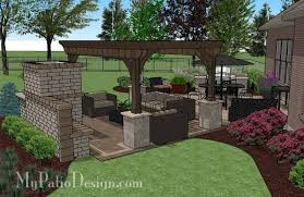 My Patio Design Paver Patio As Patio Furniture Sets With Fancy Patio With Pergola