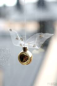 diy the golden snitch and flitwick s flying garland tutorial