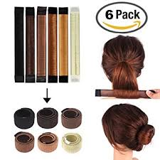 hair bun maker bun shapers donut hair styling