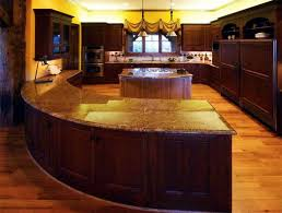 Curved Kitchen Islands by Kitchen Room 2017 Modern Future Kitchen With Modern Round