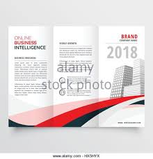 red black wave business trifold stock photos u0026 red black wave