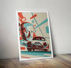 porsche poster vintage ferdinand porsche with liege rome liege rally 356 poster vertical