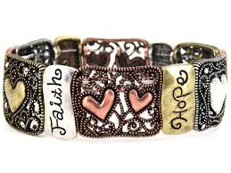religious bracelets 4030210 1 corinthians 13 faith stretch