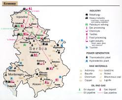 Resource Map Maps Of Serbia Bizbilla Com