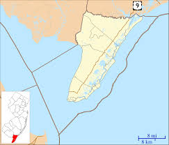 Map Of Wildwood Nj File Location Map Of Cape May County New Jersey Svg Wikimedia